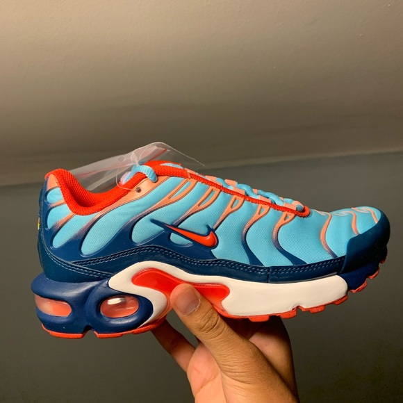 Nike Shoes   Nike Air Max Plus Blue Orange   Poshmark